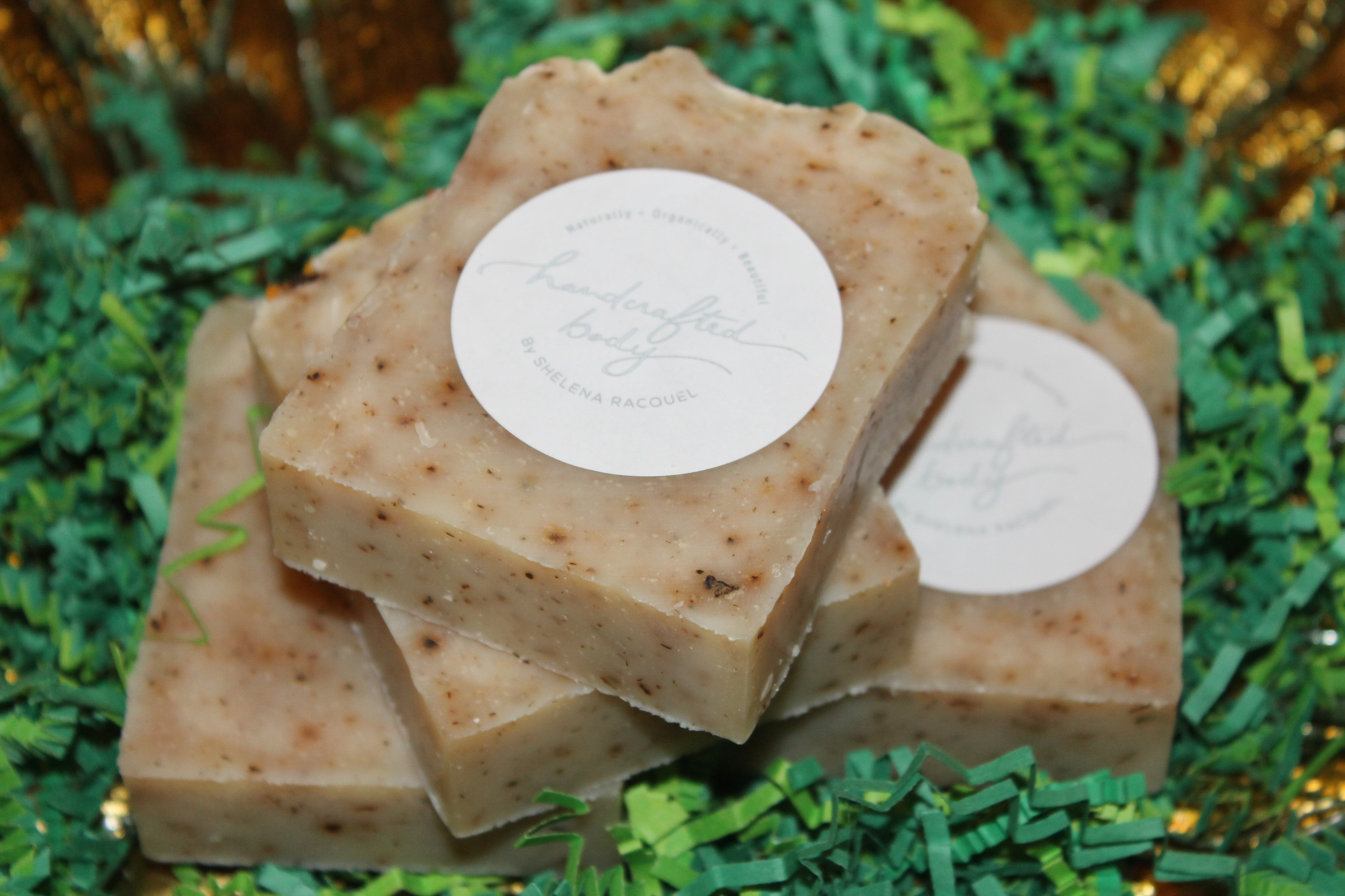 Handcrafted Herbal Turmeric Soap