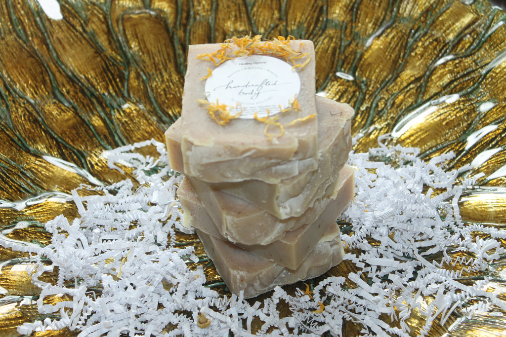 Handcrafted Herbal FULLER 'Lemon Balm' SOAP
