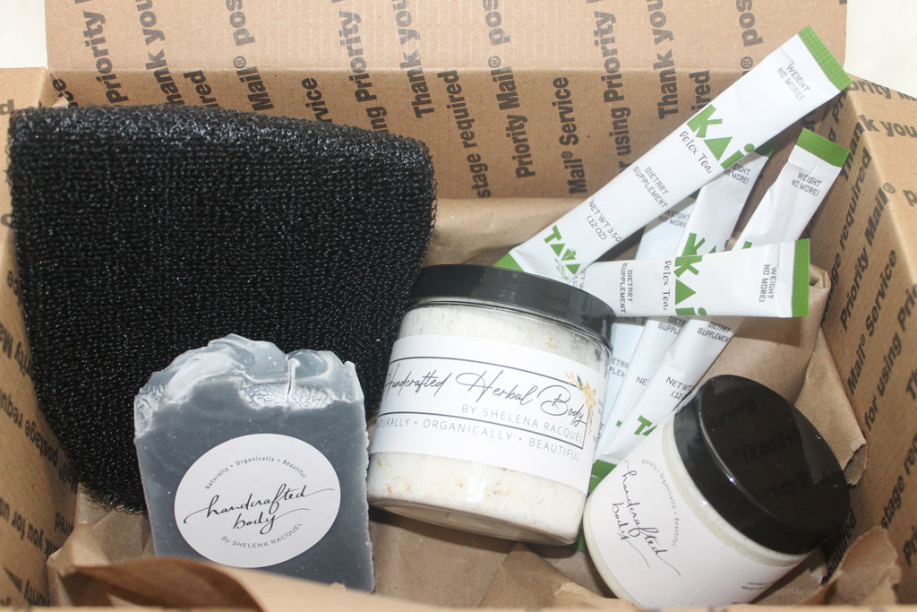 The Ultimate Black Detox Box