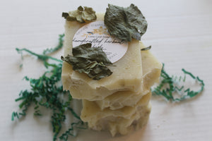 Handcrafted Herbal Lime Leaf Soap (Pre-Order)