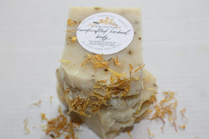 Handcrafted Herbal Orange Peel Soap (Pre-Order)