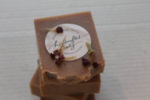 Handcrafted Herbal Sandalwood & Morocco Clay Soap