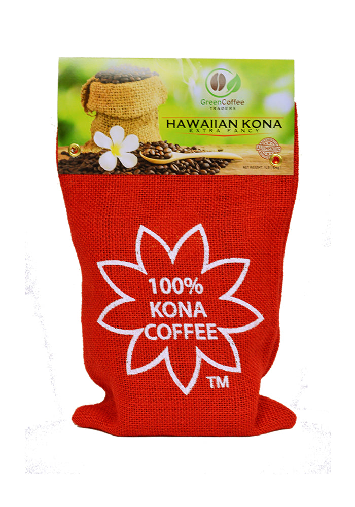 1LB. 100% Hawaiian Kona Extra Fancy Coffee