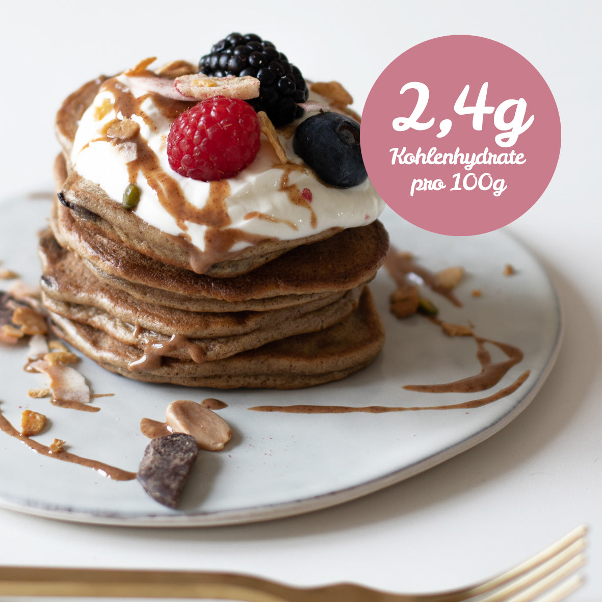 Every day LOWer CARB Pancakes