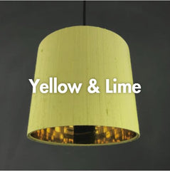Yellow & Lime Lampshades