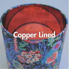 Copper Lined Lampshade Collection