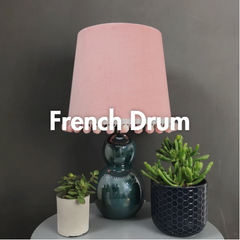 French Drum Lampshades