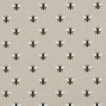 Load image into Gallery viewer, NEW! Linen-look bee fabric with champagne liner