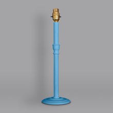 Load image into Gallery viewer, Column lamp base hand painted in Annie Sloan Chalk Paint