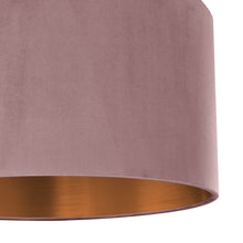 Load image into Gallery viewer, NEW; Dusty pink velvet with brushed copper liner