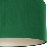 Load image into Gallery viewer, NEW! Emerald green velvet with champagne liner lampshade