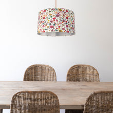 Load image into Gallery viewer, NEW: Liberty of London Floral Edit with brushed silver lampshade
