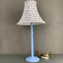 Load image into Gallery viewer, Hand painted solid beech table lamp base