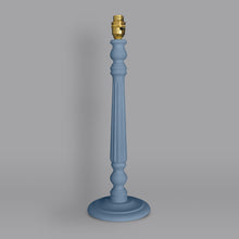 Load image into Gallery viewer, Heritage lamp base hand painted in Annie Sloan Chalk Paint