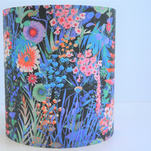 Load image into Gallery viewer, BEST SELLING: Liberty of London floral cotton with mirror copper lampshade