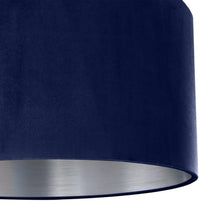 Load image into Gallery viewer, Navy blue velvet with brushed silver liner