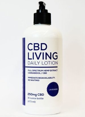 CBD Living Lotion Lavender 250mg