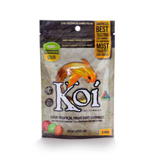 Load image into Gallery viewer, Soft CBD Gummies | Sour Tropical Fruit Flavor | Koi CBD