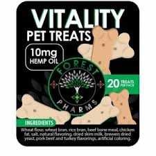 Forest Pharms Vitality CBD Pet Treats (20 MG)