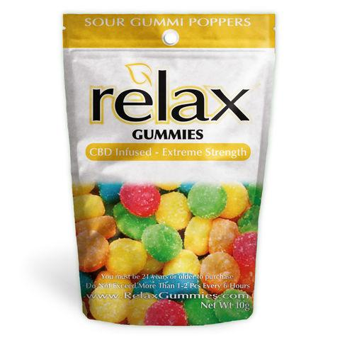 Relax Gummies - CBD Infused Poppers