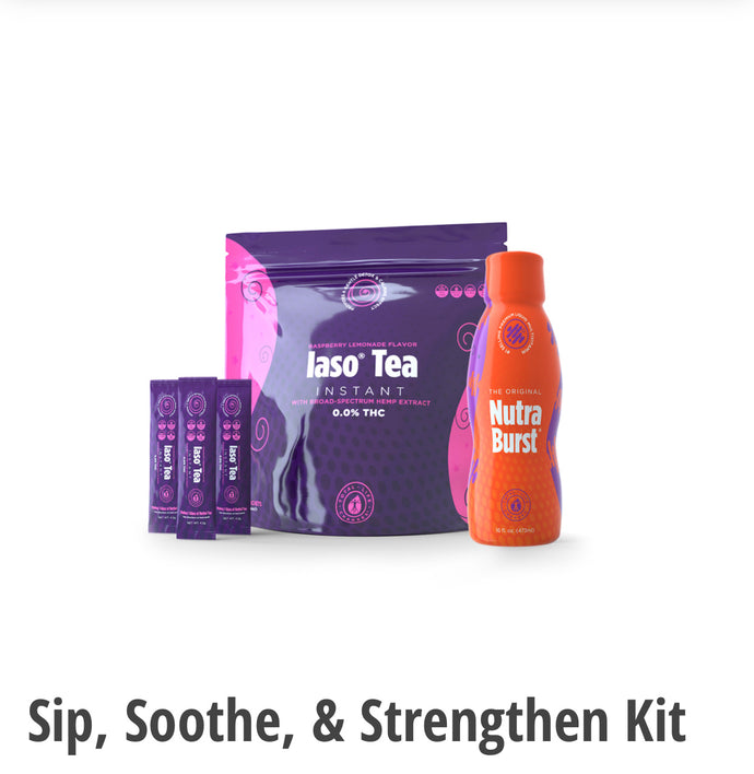 Sip, Soothe, & Strengthen Weightloss and Detox Kit