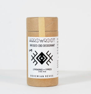 CBD Deodorant - Lemongrass and Cyoress