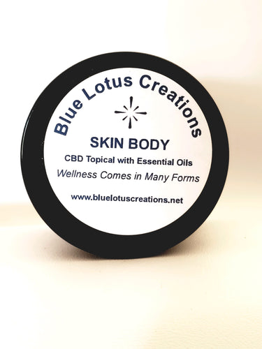 Skin Body Hemp Topical 1 oz