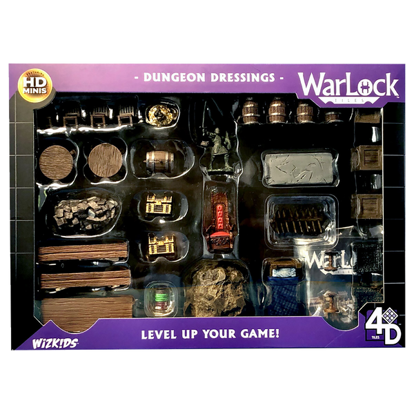 WizKids WarLock™ Tiles: Dungeon Dressings