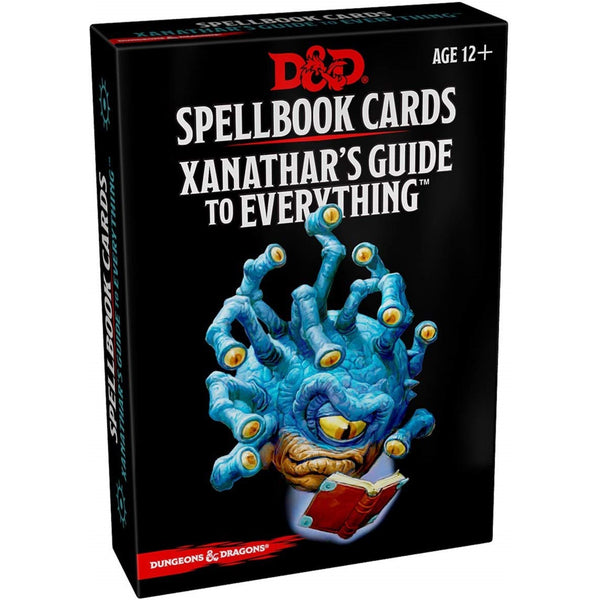DND 5E Spellbook Cards Xanathars Guide To Everything