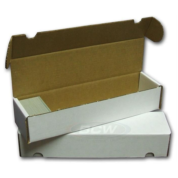 Cardboard Storage Box 1 Row  800 Count