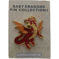 Pin: Baby Dragon Red