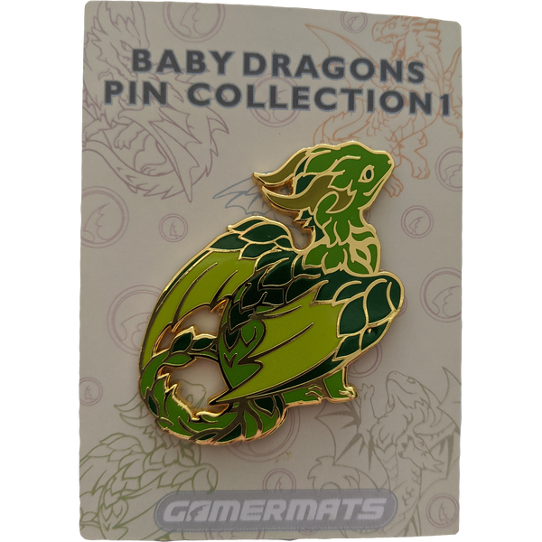 Pin: Baby Dragon Green