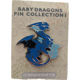 Baby Dragon Pins Set of 5