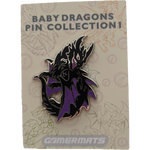Baby Dragon Pin Black