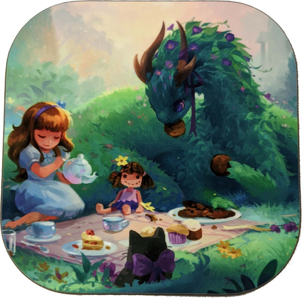 Coaster: Dragon Tea Party