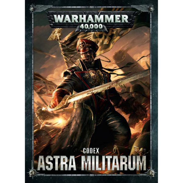 Warhammer 40K Astra Militarum Codex