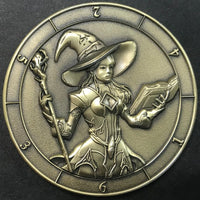 Dice Coin Witch d6