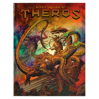 DND 5E Mythic Odysseys of Theros Alternate Art Cover