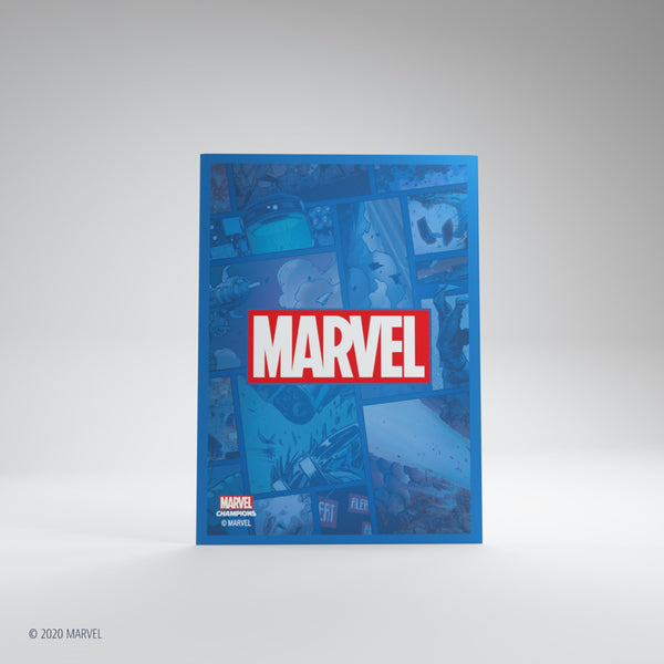 Matte Card Game Sleeves Marvel Champions Marvel Blue