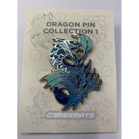 Adult Dragon Pin Blue