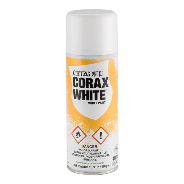 Citadel Spray Paint Corax White