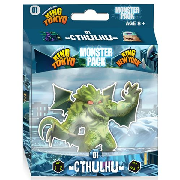 King of Tokyo New York Monster Pack 1: Cthulhu