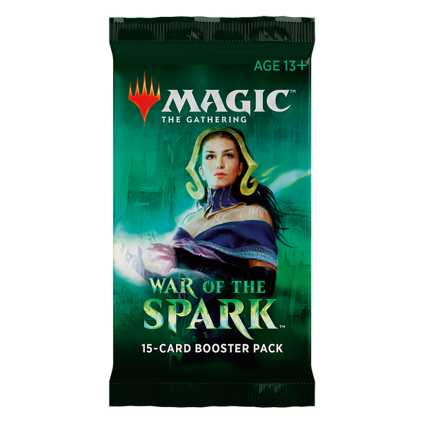 MTG War of the Spark Draft Booster Pack
