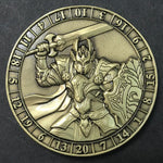 Dice Coin Paladin d20