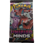 Pokemon TCG Sun and Moon Unified Minds Booster Pack
