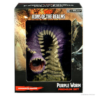DND IotR Set 15 Fangs and Talons Purple Worm Premium Figure