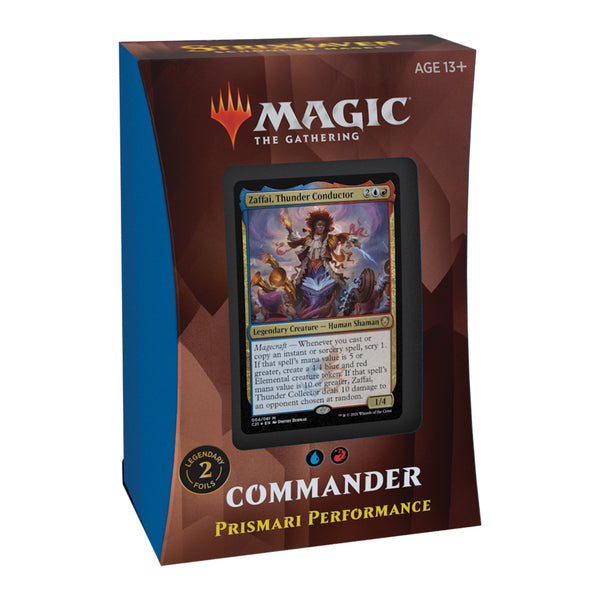 MTG Strixhaven Commander Deck – Prismari Performance (Blue-Red)
