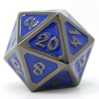DHD Dire D20 Metal Mythica Sinister Sapphire