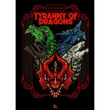 DND 5E Tyranny of Dragons Alternate Art Cover