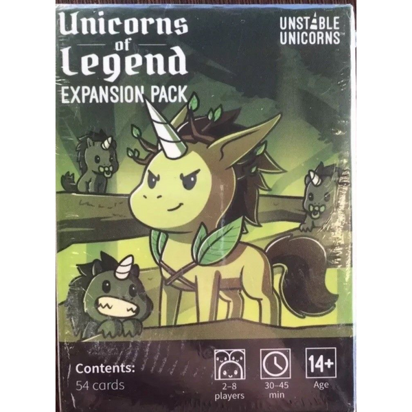 Unstable Unicorns Unicorns of Legend Expansion